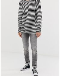 Only & Sons Slim-fit Jeans - Grijs