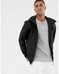 Produkt Hooded Windbreaker Jacket - Black