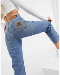 Tommy Hilfiger Collections - Jeans Met Rechte Pijpen En Embleem - Blauw