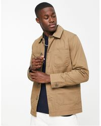 Jack & Jones Premium – Hemdjacke im Arbeiter-Stil - Grün