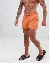 Weekday - Swim Shorts In Tan - Lyst