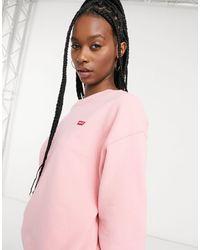 Levi's Co-ord Crew Neck Sweatshirt - Pink