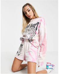 New Girl Order Oversized Sweatshirt - Pink