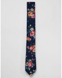Original Penguin - Floral Tie - Lyst