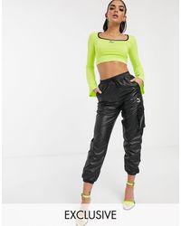 PUMA Cargo Trousers - Black