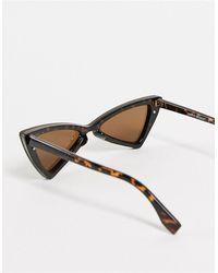 Vero Moda Angular Sunglasses - Black