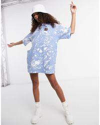 Santa Cruz Kit - Vestito T-shirt bianco/blu