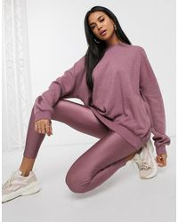 ASOS Oversized Superzachte Sweater - Paars