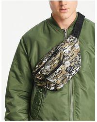 Wesc Heuptasje Met Tijger- En Camouflageprint - Meerkleurig