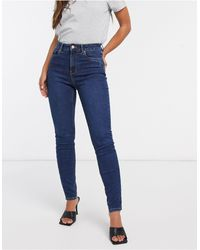 New Look - Lift And Shape Skinny Jeans - Lyst