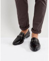 KG by Kurt Geiger - Kg By Kurt Geiger Melton Loafers In Black Leather - Lyst