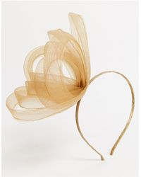 ASOS Simple Hair Fascinator Headband - Metallic