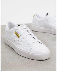 adidas Originals - Sleek Sneakers - Lyst