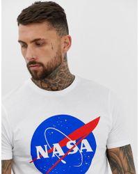 ASOS NASA - T-shirt - Bianco