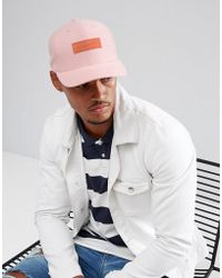 Mitchell & Ness - Gum Snapback Cap In Pink - Lyst