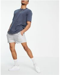 Another Influence Towelling Shorts Co-ord - Grey