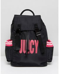 Juicy Couture - Juicy By Nylon Logo Backpack - Lyst