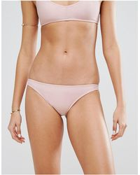 Motel Pale Bikini Bottom - Purple