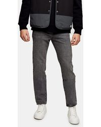 TOPMAN - Straight Jeans - Lyst