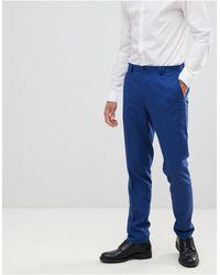 Noak – Enge Anzughose - Blau