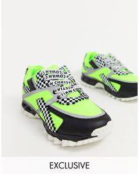ASOS X Christian Cowan Chunky Sneakers - Green