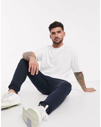 New Look - T-shirt oversize bianca - Lyst