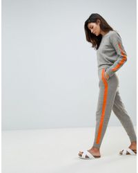Micha Lounge - Relaxed Joggers With Contrast Stripe Detail Co-ord - Lyst