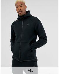 Nike - Tall - Hoodie technique zippé en polaire - Lyst