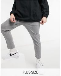 River Island Big & Tall - Jogger - Gris