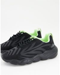 ASOS Trainers With Chunky Sole - Black