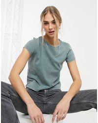 American Eagle T-shirt avec poche - Vert