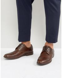 Call It Spring - Huttner Toe Cap Shoes In Brown - Lyst
