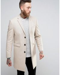 Noose And Monkey Overcoat - Natural