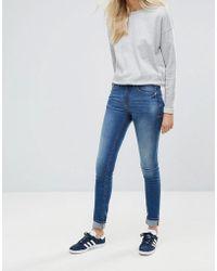 Blend She - Bright Blush Skinny Jeans - Lyst