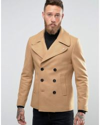 Noose And Monkey Peacoat - Brown