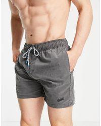 Pull&Bear Swim Shorts - Grey