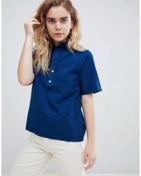 Bethnals - Alex Raglan Short Sleeved Shirt - Lyst