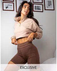 PUMA - Короткие Леггинсы Шоколадного Цвета X Stef Fit Эксклюзивно Для Asos-коричневый Цвет - Lyst
