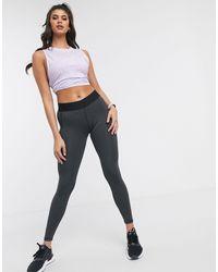 adidas Originals Черные Леггинсы С Логотипом Adidas Training Alphaskin-черный