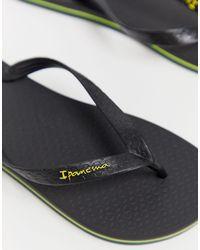 Ipanema Brazil 21 Flip Flop - Black
