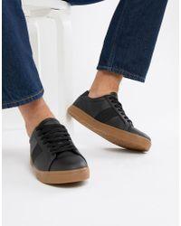 7e2b42236563 PUMA Basket Classic Gum Sneakers In Black 36536602 in Black for Men ...