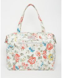 Cath Kidston - Large Zipped Shoulder Bag - Lyst