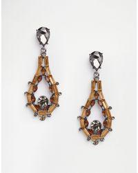 Nali | Topaz Drop Earrings | Lyst