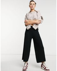 ALIGNE Knitted Culottes - Black