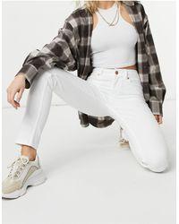 Oasis Cherry - Denim Jeans - Wit