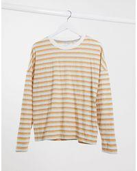 Quiksilver Fluids Striped Long Sleeved T-shirt - Orange