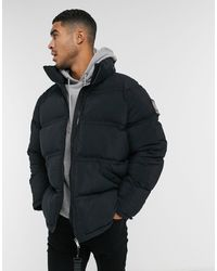 Raeburn Recycled Polyester Puffer Jacket - Black