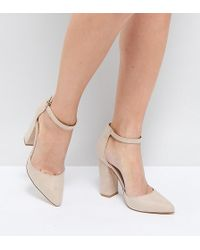 Truffle Collection - Pointed Block Heels - Lyst