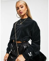 PUMA Jersey corto negro