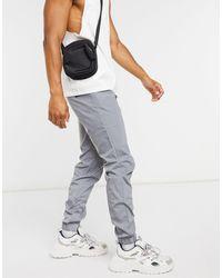 Sixth June - Pantalones cargo con detalle reflectante en gris de - Lyst